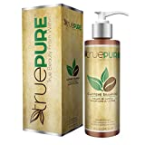 TruePure Natural Caffeine Shampoo - Fragrance Free & Sulfate Free Treatment For Healthy