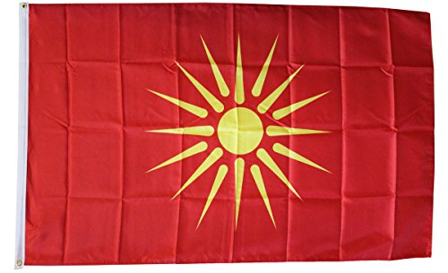 Macedonia - 3' x 5' Dura-Poly Foreign Historical Flag by Flagline