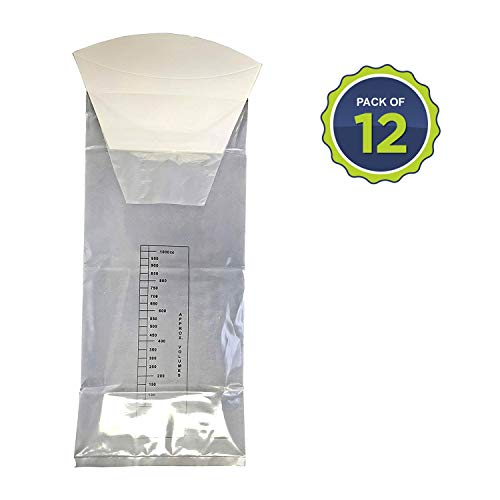 Primacare CB-7142 Disposable Vomit Emesis Bag, Pack of 12