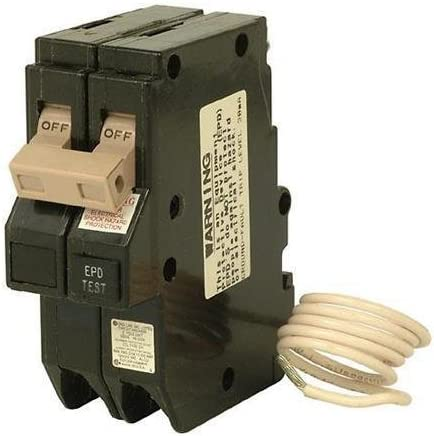 Cutler Hammer Ch250epd or ch250gfep ch series with ground fault equipment protection 2 Pole 50 amp Circuit Breaker