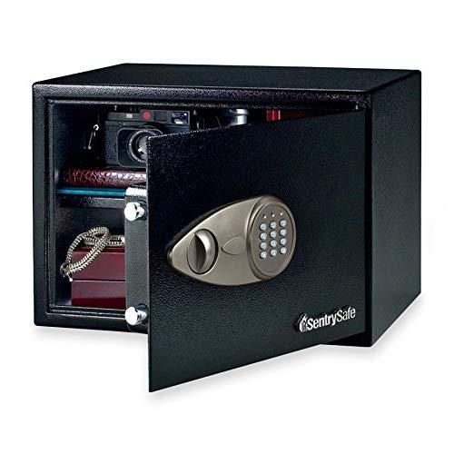- Sentry Group X125 Electronic Safe w/Lock/Key, 17