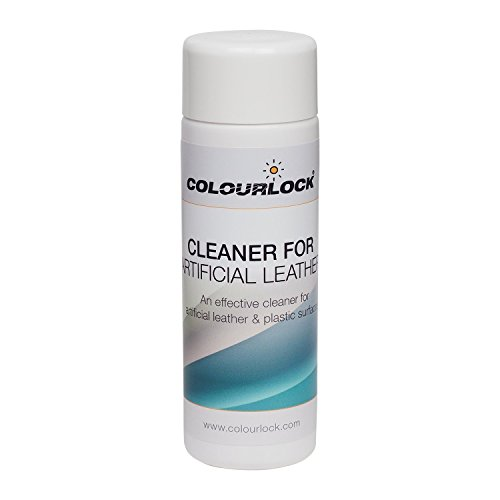 - Colourlock Faux Leather Cleaner to clean artificial fake synthetic leather, leatherette, pleather, vinyl couches sofas furniture, car seats, clothing (5 fl oz)