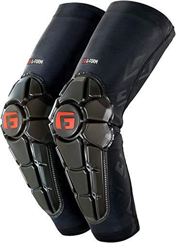 G-Form Pro X2 Elbow Pad(1 Pair), Black Logo, Adult Large