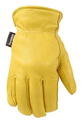 Women's ComfortHyde Winter Gloves, 100-gram Thinsulate Insulation, Fleece Lined, Medium (Wells Lamont 985M)