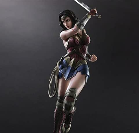 Play Arts Kai PA Wonder Woman Action Figure Dawn Of Justice Toy Doll Model New 9 - Parts Unlimited Snowmobile