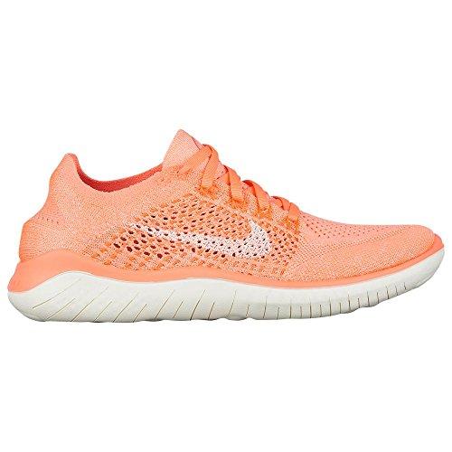 Nike WMNS Free Rn Flyknit 2018 Womens 942839-801 Size 5