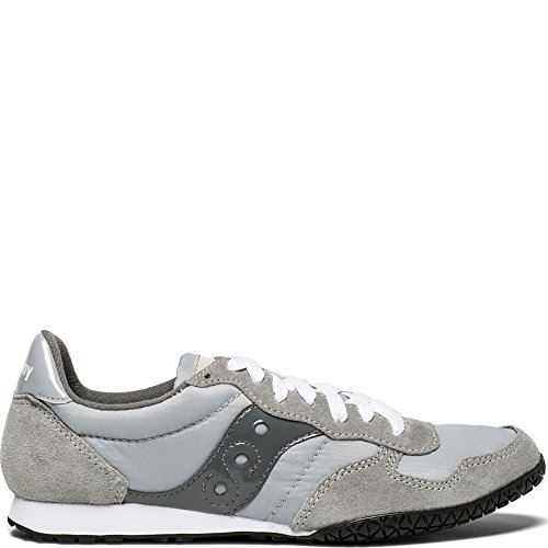 Saucony Originals Women's Bullet Running Shoe, Grey, 8 Medium US (Saucony Type Womens)