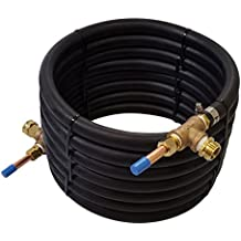 NY Brew Supply Deluxe Counterflow Wort Chiller with Copper Tubing