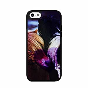 Beautiful Light Brown Horse TPU RUBBER SILICONE Phone Case Back Cover iPhone 6 plus 5.5 includes diy case Cloth and Warranty Label