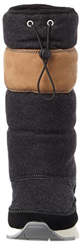 Mujer de Rabina para N00 Negro Footwear Botas NAPAPIJRI Black Nieve 5YtqRR