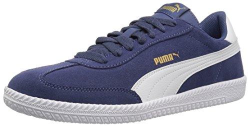 PUMA Men's Astro Cup Sneaker, Blue Indigo White, 12 M US