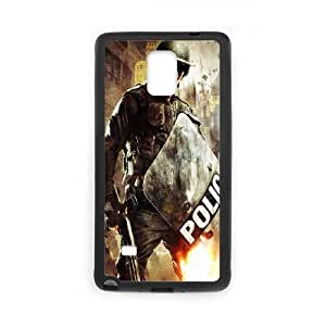 Samsung Galaxy Note 4 Cell Phone Case Black_POLICE TR2346057