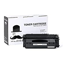 Moustache ® HP 49X Q5949X (6,000 Pages, High Yield of HP 49A Q5949A HP49A) Black HP49X 5949X BK Premium Quality Compatible Remanufactured Toner Cartridge for HP LaserJet 1320, 1320n, 1320nw,1320t, 1320tn, 3390, 3392 ~ 1 year warranty