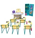 Barbie Size Dollhouse Furniture – Classroom Play Set