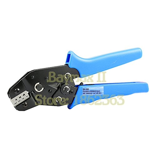 SN-28B Pin Crimping Tool 2.54mm 3.96mm 28-18awg 0.1-1.0mm2 for Dupont Terminals with Wire-electrode Cutting Die Sets - Multifunction Electrodes
