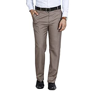 McHenry Men's Regular Fit Formal Trousers