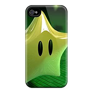 Awesome Design 3d Stars Hard Cases Covers For Iphone 4/4s