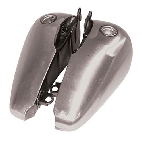 V-Factor 81038 Gas Tank (Flat Side Fat Bob Style Set for Softail and Fxwg)