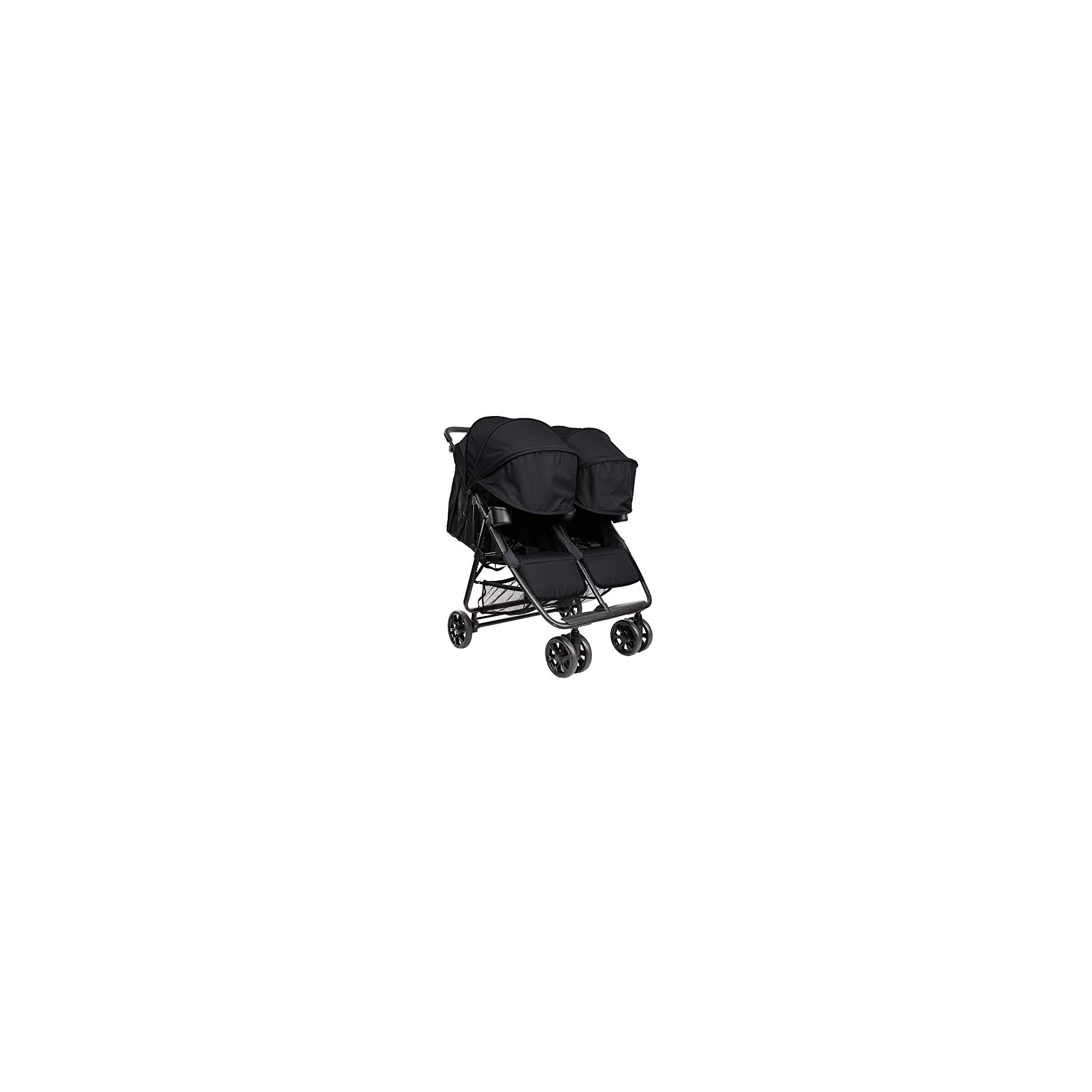 The Twin+ (Zoe XL2) – Best Double Stroller – Everyday Twin Stroller with Umbrella – UPF 50+ – Tandem Capable