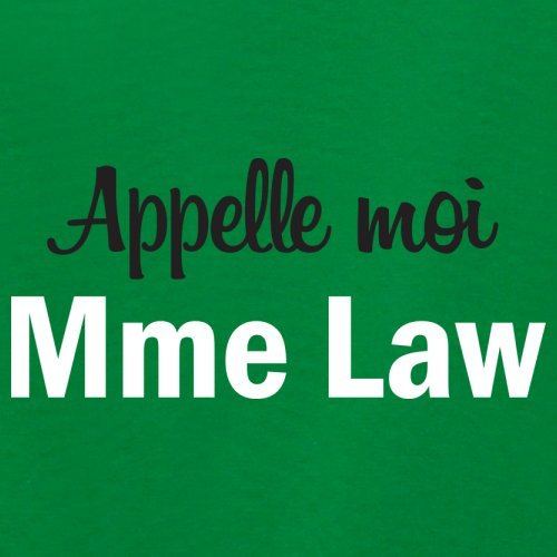 Apelle Moi Madame Law - Femme T-Shirt - Vert - M