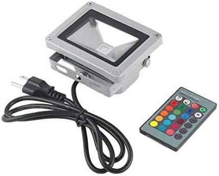 Control Remoto 16 RGB 10W 85~265V LED Flood luz lámpara proyector ...