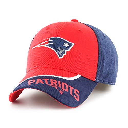 NFL New England Patriots Sprout OTS All-Star Adjustable Hat, Light Navy, Kid's]()