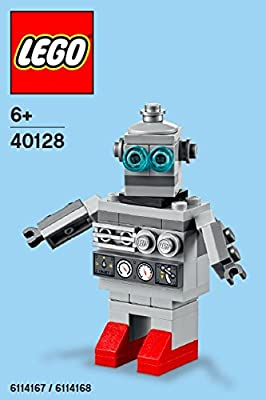 Constructibles® Toy Robot Mini Model LEGO® Parts & Instructions Kit