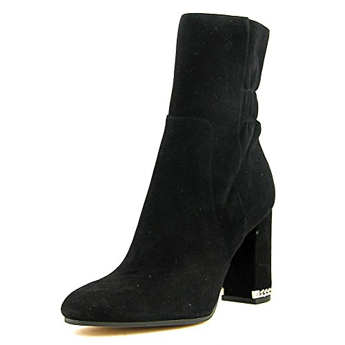 MICHAEL Michael Kors Women's Dolores Bootie Black Kid Suede Boot 11 - Kors Boots Michael Children's