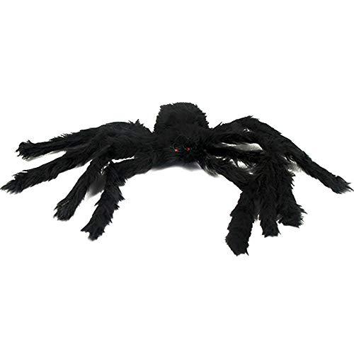 Bihood Scary Spider Prank Scary Spider Scary Spider Halloween Black Spider Spider for Boys Black Widow Spider Realistic Hairy Spider Hairy Spider]()