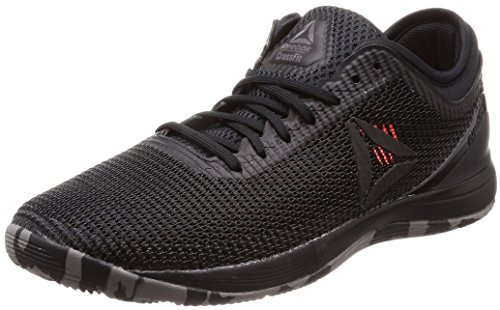 Reebok R Crossfit Nano 8.0, Chaussures de Fitness Homme Noir (Black/Shark/Atomic Red Black/Shark/Atomic Red)