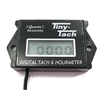 Tiny Tach TT2B Digital Hour Meter / Tachometer for Small Gas Spark Engine Motor by The ROP Shop: Automotive