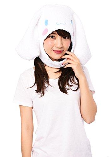 Sanrio Cinnamoroll Fluffy Beanie Cap Soft Warm Winter Head wear