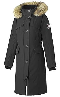 Alpinetek Women's Long Down Parka Coat