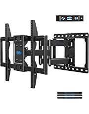 Mounting Dream TV Mount Bracket for 42-70 Inch Flat Screen TVs, Full Motion TV Wall Mounts with Swivel Articulating Dual Arms, Heavy Duty Design - Max VESA 600x400mm, 100 LBS Loading