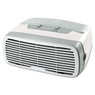Holmes Small Room 3-Speed HEPA Air Purifier with Optional Ionizer, White