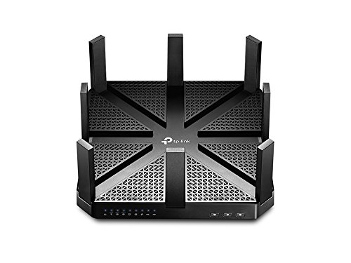 TP-Link AC5400 Wireless Wi-Fi MU-MIMO Tri-Band Router - Powerful Wi-Fi for Gaming and 4K Streaming, Comprehensive Antivirus and Security, Works with Alexa and IFTTT (Archer C5400)