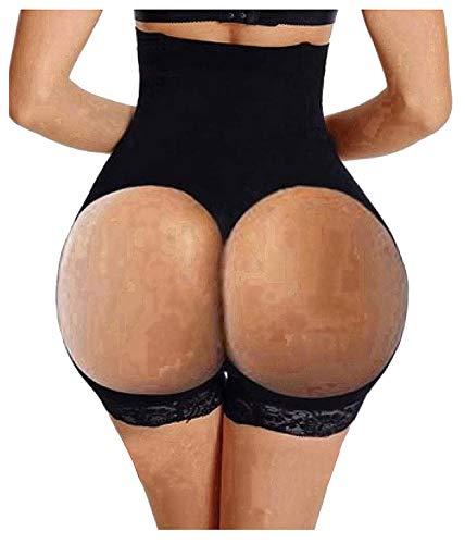 5b8d05d0ea Hourglass Figure Butt Lifter Shaper Panties Tummy Control High Waisted  Boyshort (Black