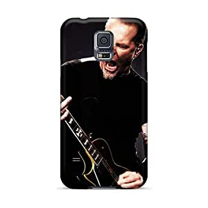 Samsung Galaxy S5 CZp15925XCuP Unique Design Stylish Metallica Series Perfect Hard Phone Covers -JoanneOickle