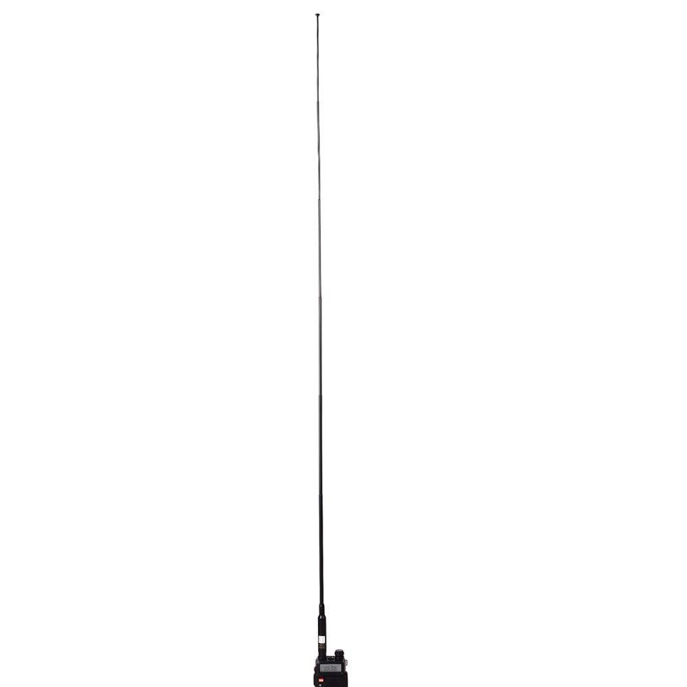 TengKo RH-660S BNC Banda Dual VHF UHF 144//430MHz Antena Telesc/ópica Antena de Radio Bidireccional de Alta Ganancia para Kenwood ICOM IC-V8 IC-V80 IC-V85 TK100 CB Radio Baofeng Ham Walkie Talkie