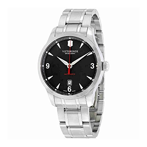 Victorinox Swiss Army 241669 Men's Alliance Automatic Watch, Silver