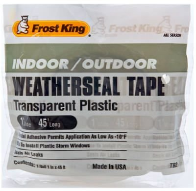 frost-king-t92h-1-x-45-long-indoor-outdoor-clear-plastic-weatherseal-tape-clear