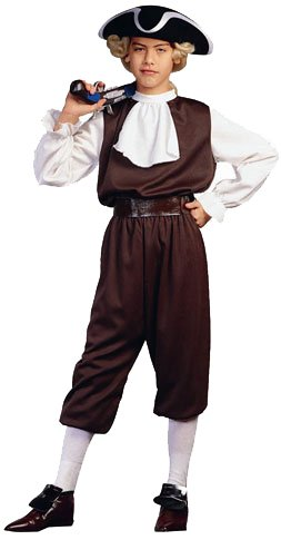 RG Costumes Colonial Boy, Child Medium/Size 8-10 (Colonial Day Costumes)