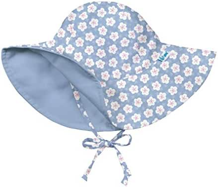 i play. Baby & Toddler Girls' Reversible Brim Sun Protection Hat