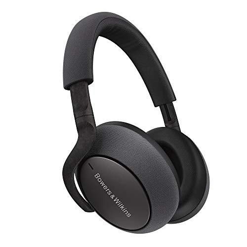 Bowers & Wilkins PX7 Over Ear Wireless Bluetooth Headphone, Adaptive Noise Cancelling – Space Grey