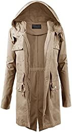 Amazon.com: Brown - Trench Rain &amp Anoraks / Coats Jackets