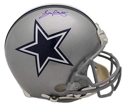 (Tony Dorsett Autographed/Signed Dallas Cowboys Proline Helmet JSA)