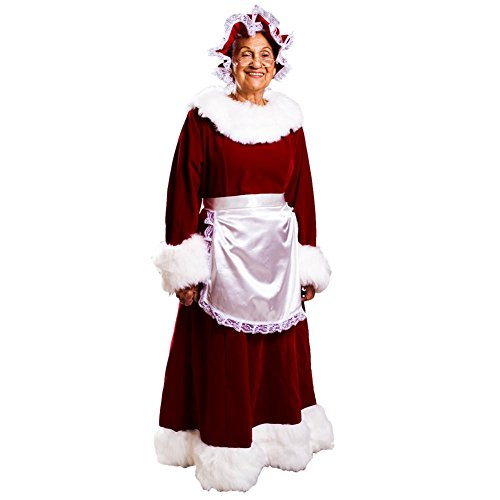 Halco Mrs. Claus Dress (12-14) -