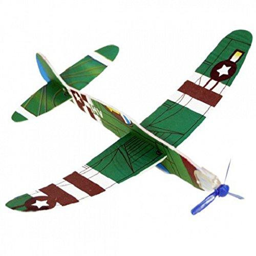Schramm Onlinehandel S/O 48er Pack Styroporflieger Styropor - Flieger Verschiedene Motive Flieger Flugzeug