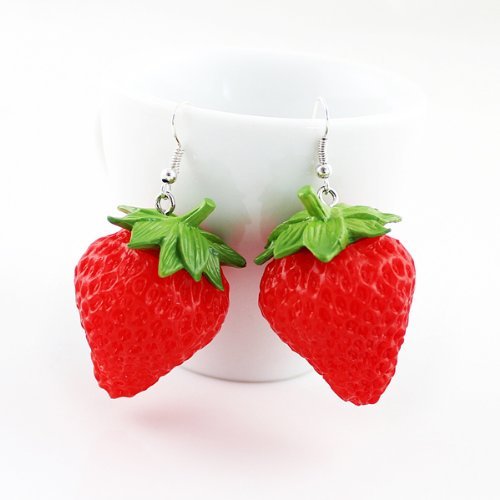 Shipping Costume Jewelry Strawberry Earrings product image