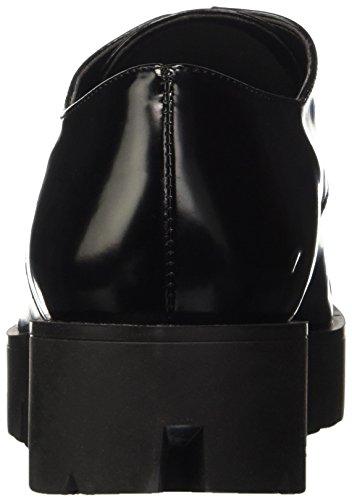 TRUSSARDI JEANS by Trussardi 79s30151, Zapatos de Cordones Derby para Mujer, 36 EU negro